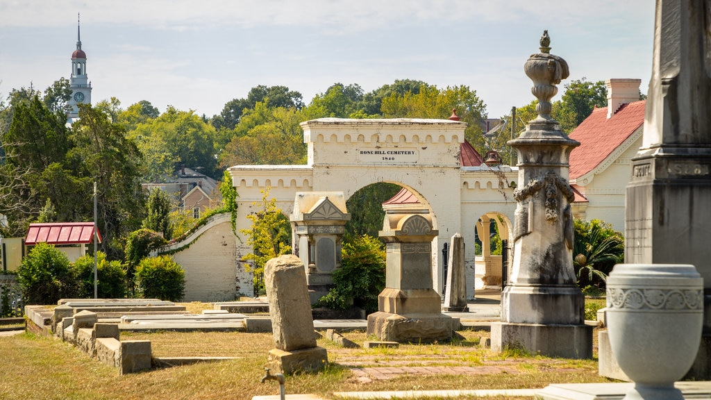 Rose Hill Cemetery which includes a cemetery