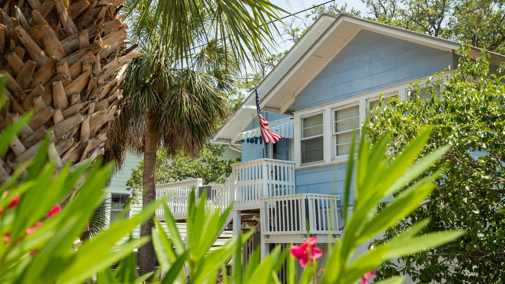 Tybee Island featuring a house