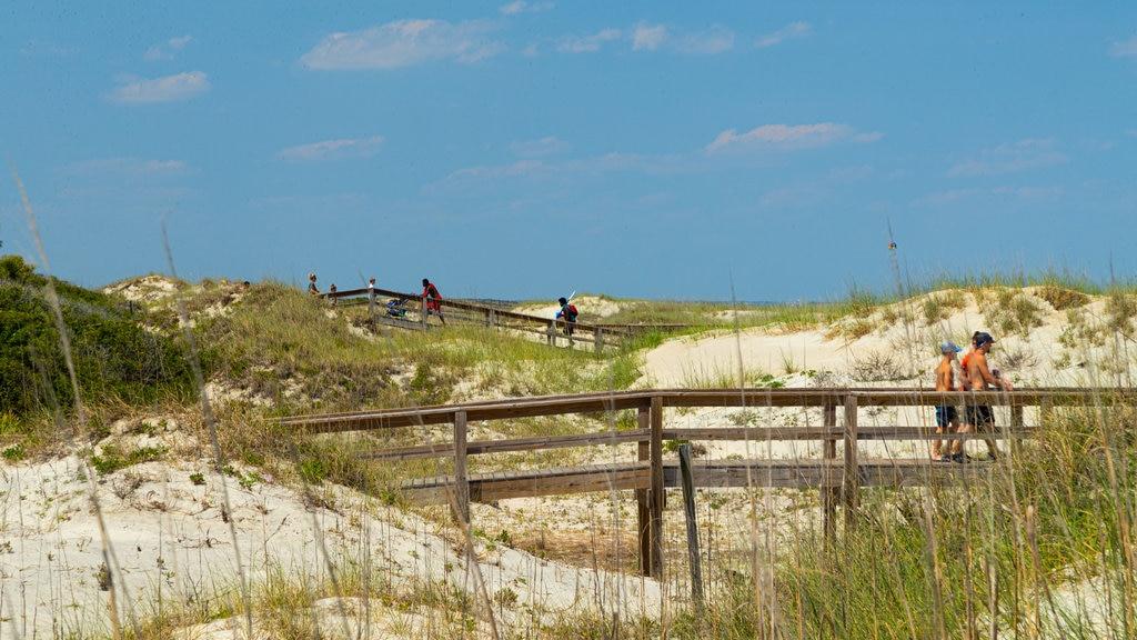 Tybee Island Beach which includes a sandy beach