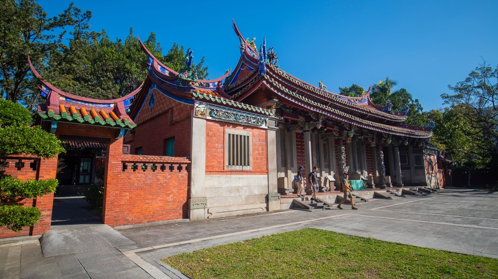 Taipei Confucius Temple featuring heritage architecture and a temple or place of worship