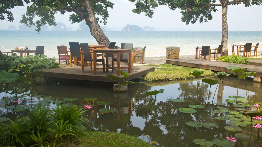 Ao Nang Beach featuring a pond and general coastal views