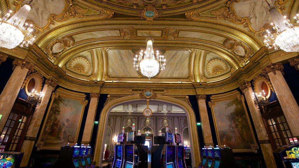 Casino Monte Carlo which includes interior views, heritage elements and a casino