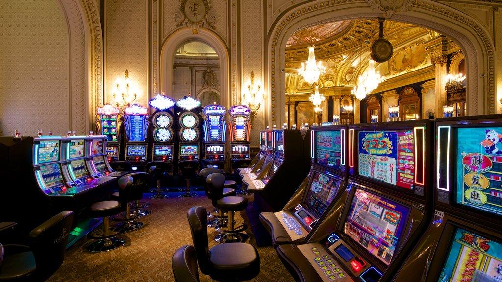 Casino Monte Carlo which includes interior views and a casino