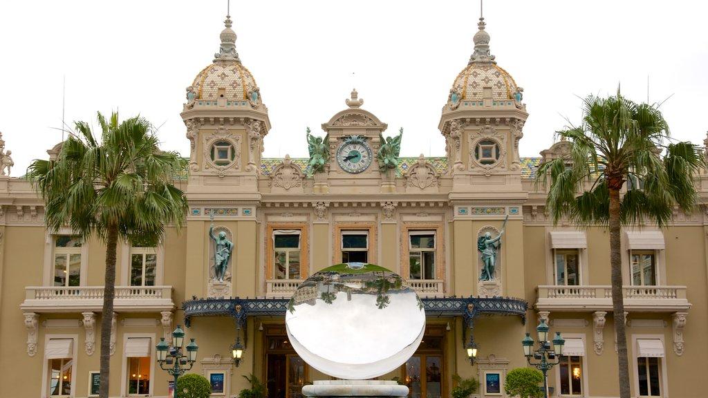 Casino Monte Carlo featuring heritage architecture