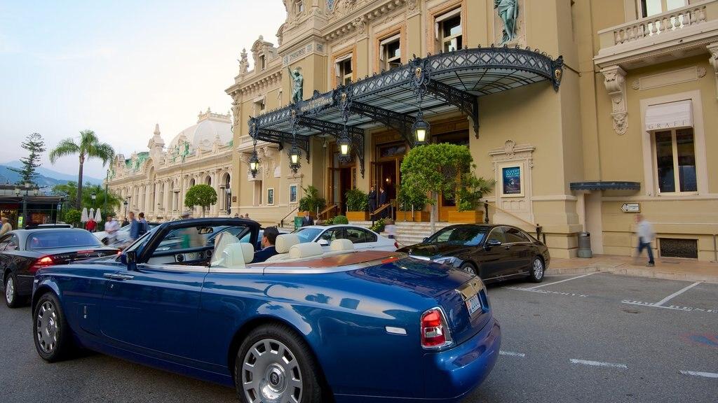 Casino Monte Carlo showing heritage architecture
