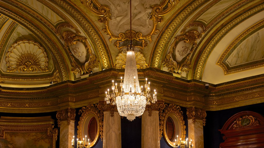 Casino Monte Carlo which includes heritage elements and interior views