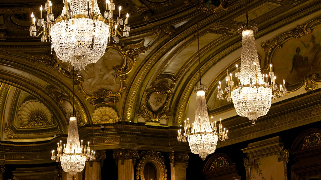 Casino Monte Carlo showing interior views and heritage elements