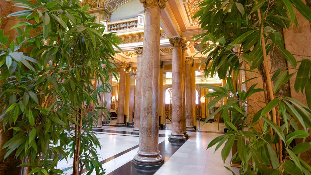 Casino Monte Carlo featuring interior views and heritage elements