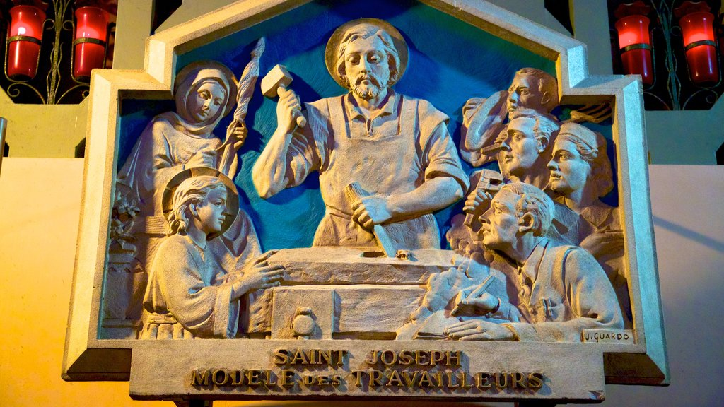 Saint Joseph\'s Oratory which includes a statue or sculpture and religious aspects