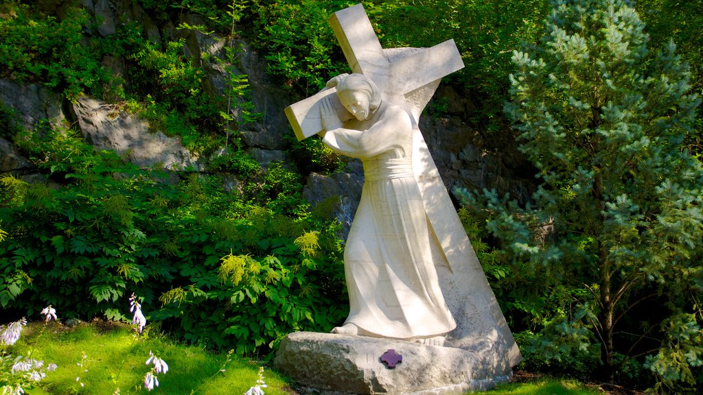Saint Joseph\'s Oratory which includes religious aspects, a statue or sculpture and a church or cathedral