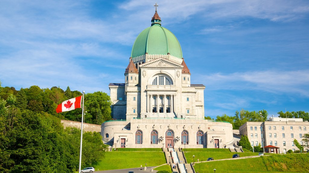 Saint Joseph\'s Oratory featuring heritage elements, religious aspects and a church or cathedral