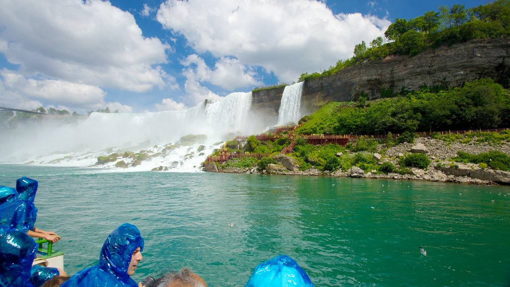 Maid of the Mist which includes a river or creek, a cascade and views