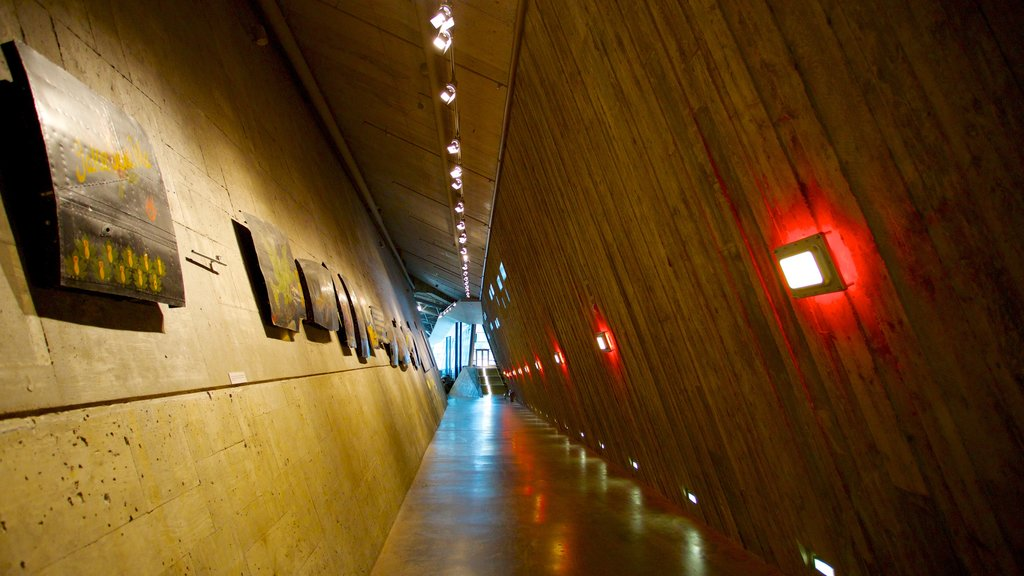 Canadian War Museum which includes interior views and modern architecture