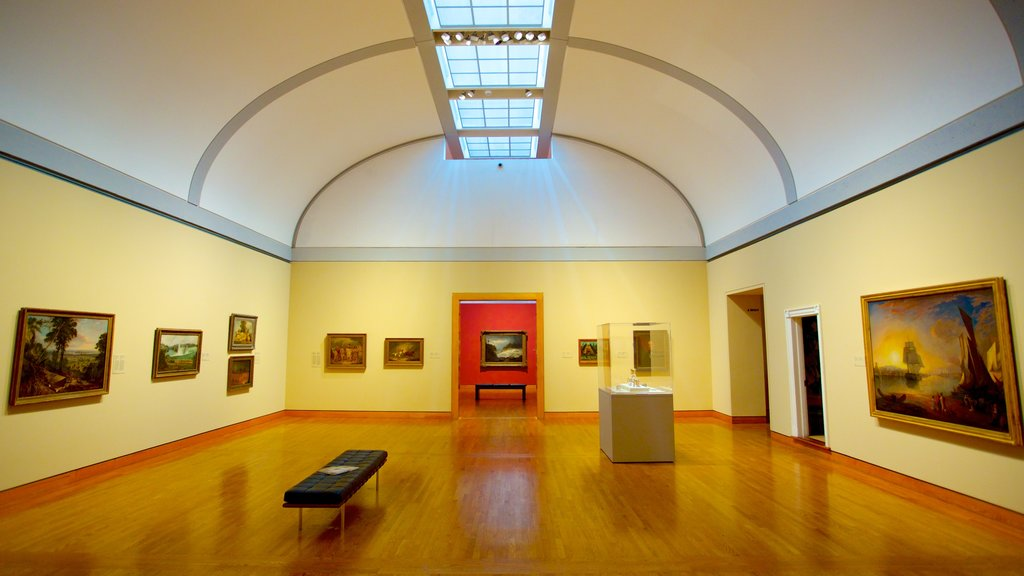 National Gallery of Canada which includes art and interior views