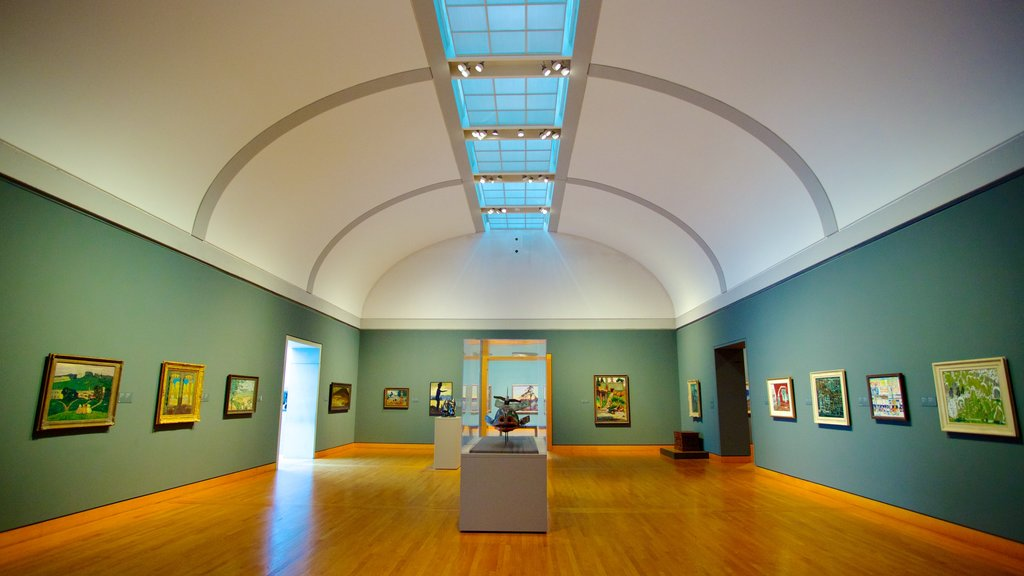 National Gallery of Canada showing art and interior views