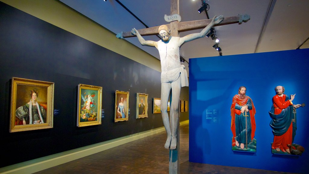 Montreal Museum of Fine Arts featuring a statue or sculpture, religious elements and art