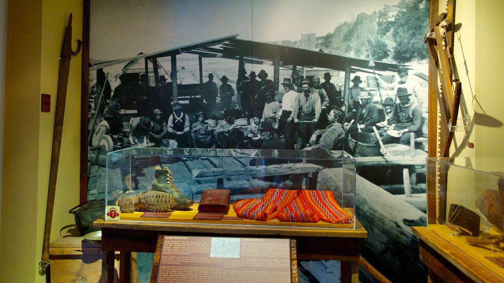 Bytown Museum showing interior views