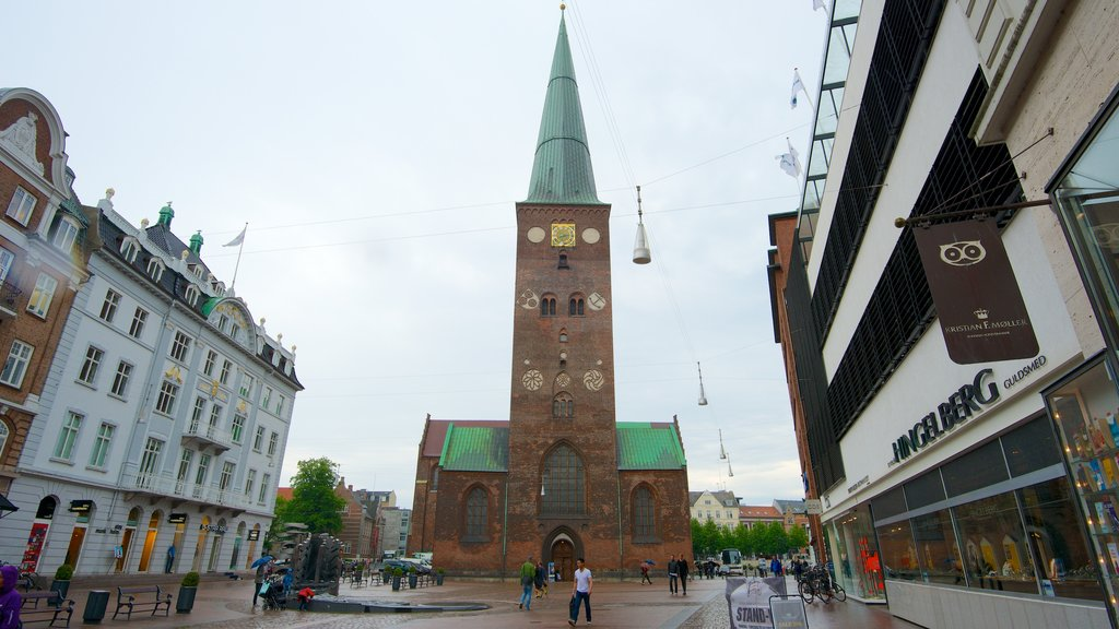 Church of Our Lady which includes heritage architecture, a city and street scenes