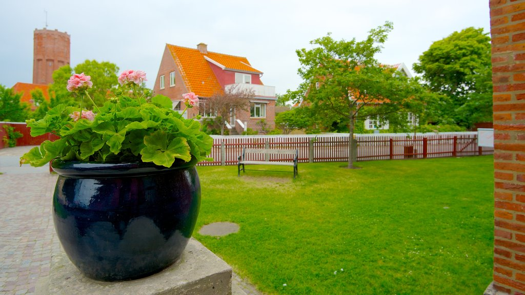 Skagens Museum showing flowers