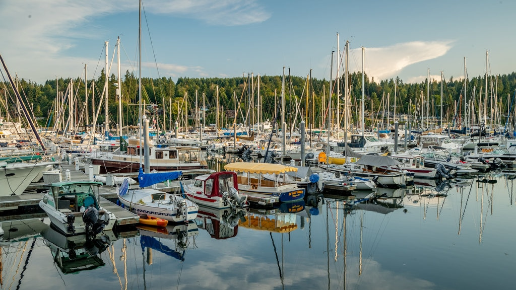 Bainbridge Island featuring a bay or harbor