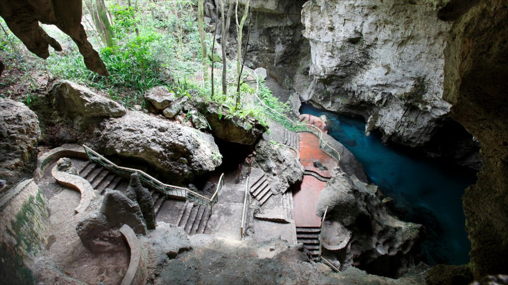 Dominican Republic showing caves and caving