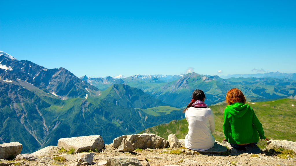 Chamonix-Mont-Blanc featuring landscape views, views and hiking or walking