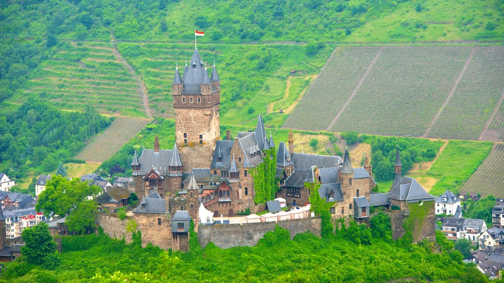 Cochem which includes tranquil scenes, heritage architecture and a castle