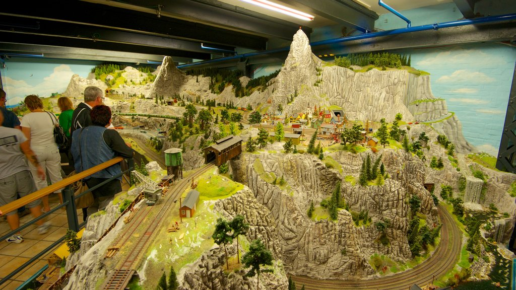 Miniatur Wunderland which includes interior views as well as a small group of people