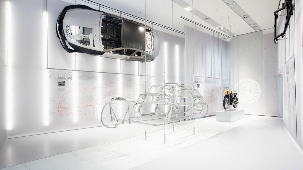 Munich featuring interior views