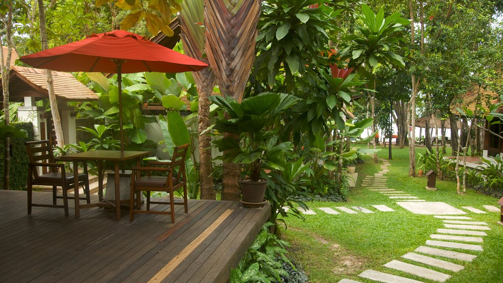 Ao Phra Nang Beach which includes a garden and a luxury hotel or resort