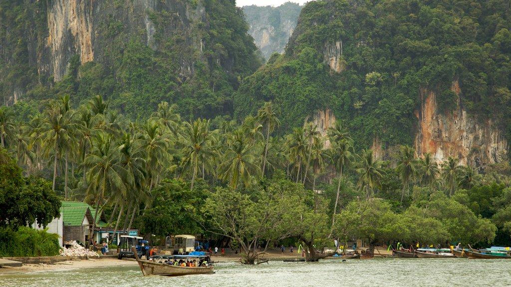 Krabi featuring boating, general coastal views and tropical scenes