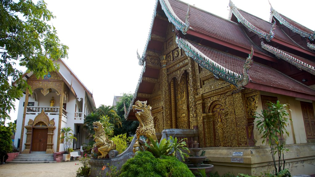 Chiang Mai showing religious elements, a temple or place of worship and heritage architecture