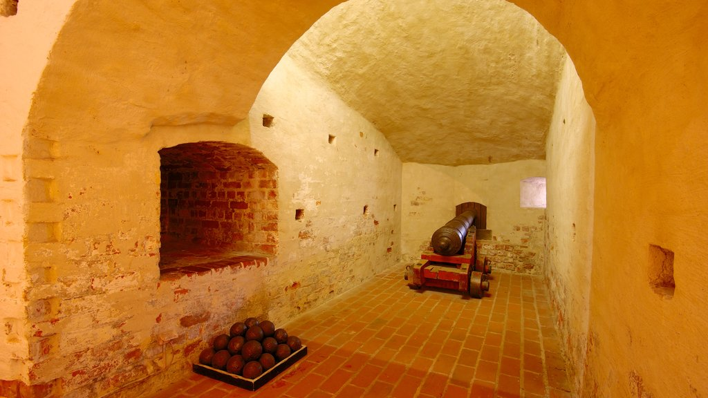 Malmo Castle featuring interior views, chateau or palace and heritage elements