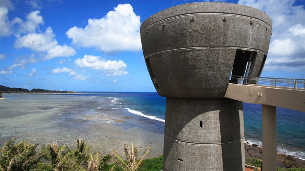 Hagatna which includes views, tropical scenes and a beach
