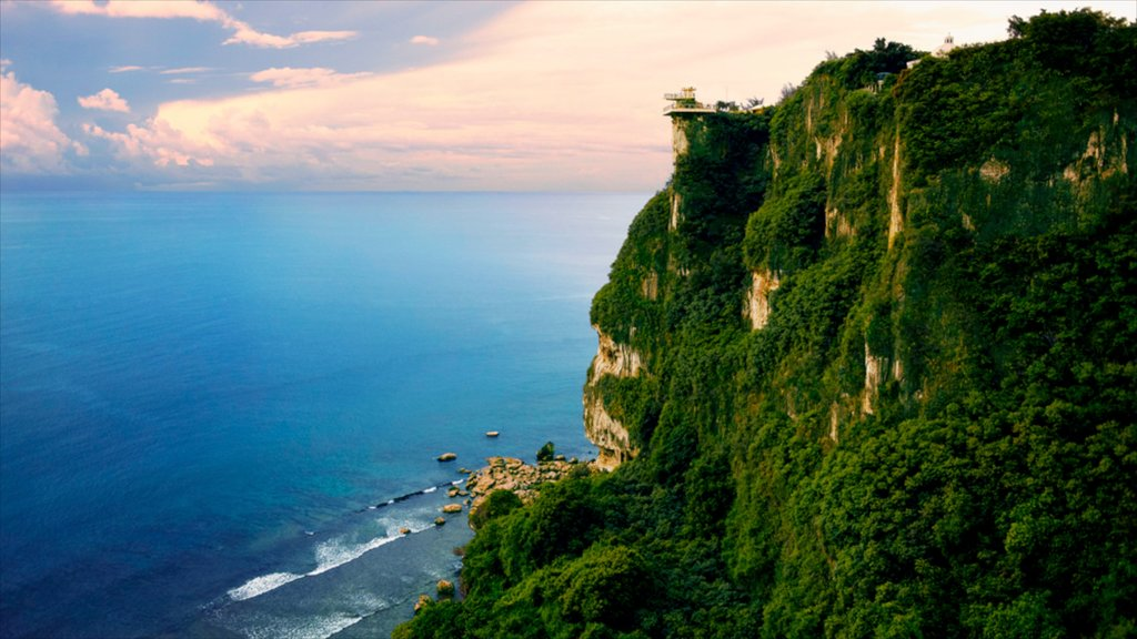 Two Lovers Point featuring a gorge or canyon, tropical scenes and views