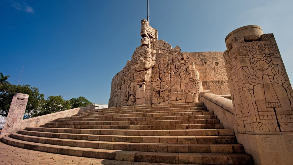 Mexico which includes a temple or place of worship and heritage architecture