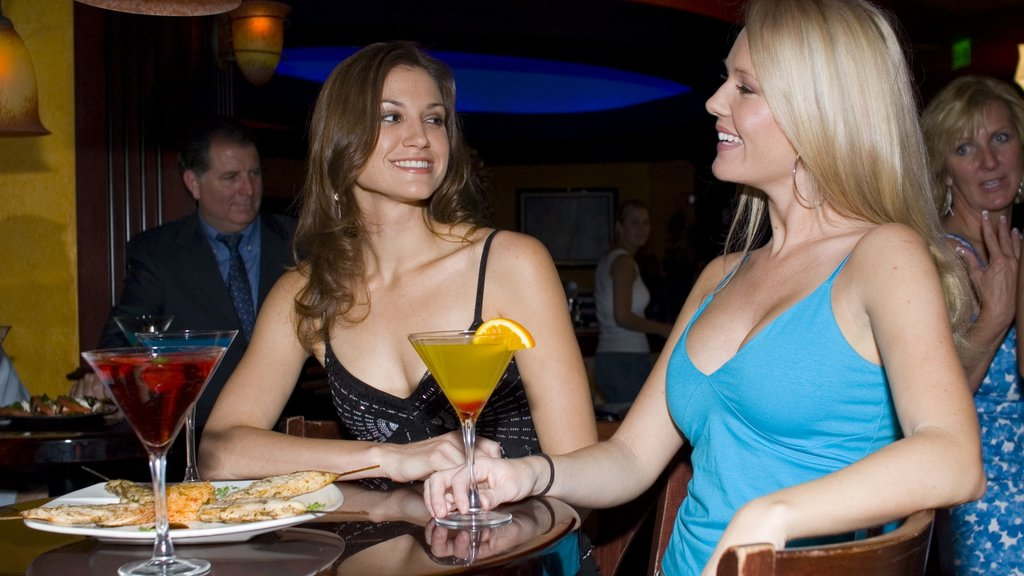 Orlando showing a bar, nightlife and drinks or beverages