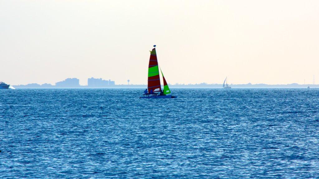 Miami featuring sailing and general coastal views