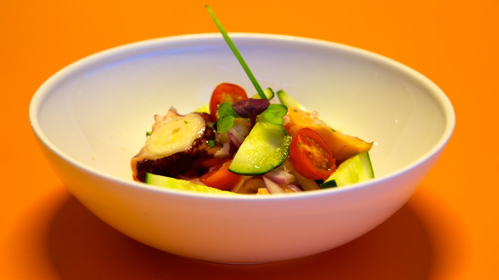 Metropol Parasol featuring food