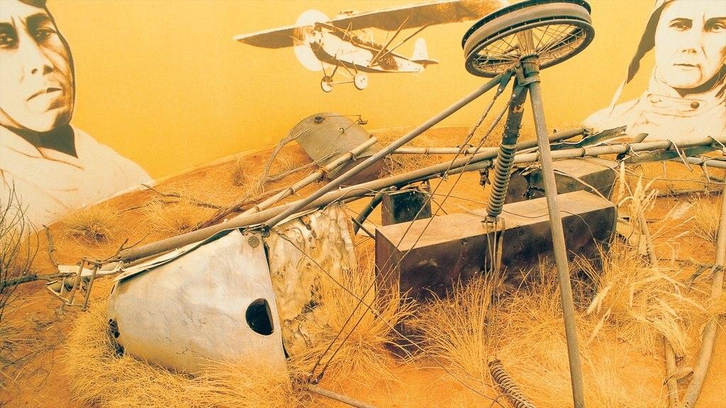 Araluen Cultural Precinct showing aircraft and tranquil scenes