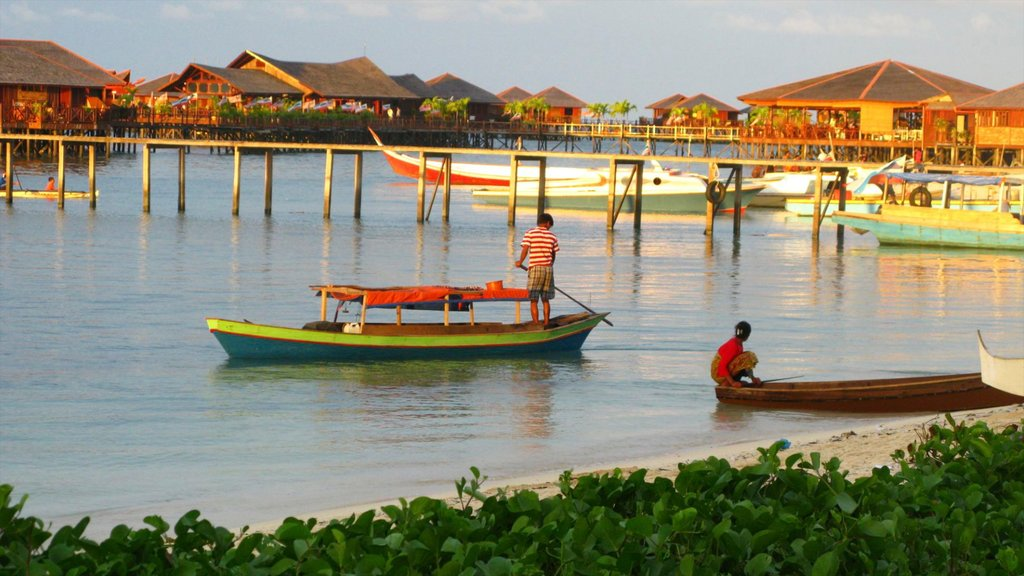 Malaysia which includes a coastal town, a bay or harbor and a marina