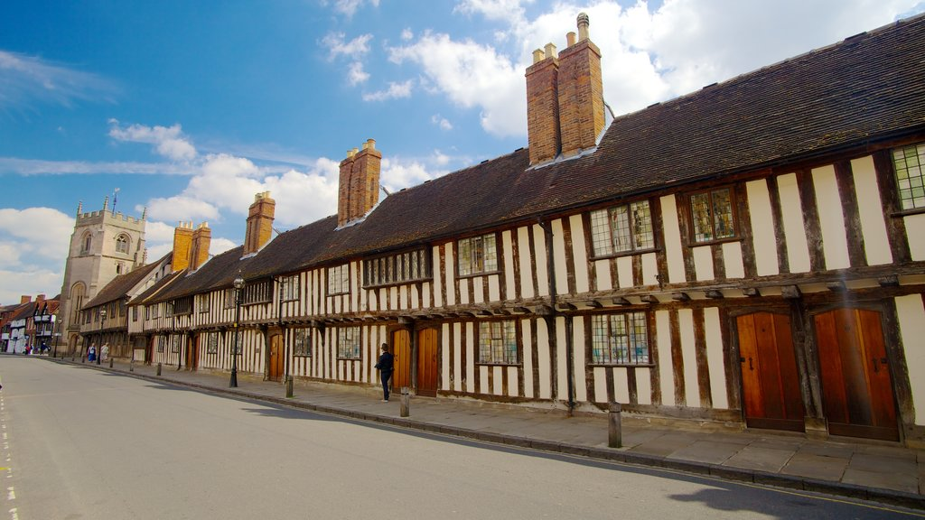 Stratford-upon-Avon featuring a house and heritage architecture
