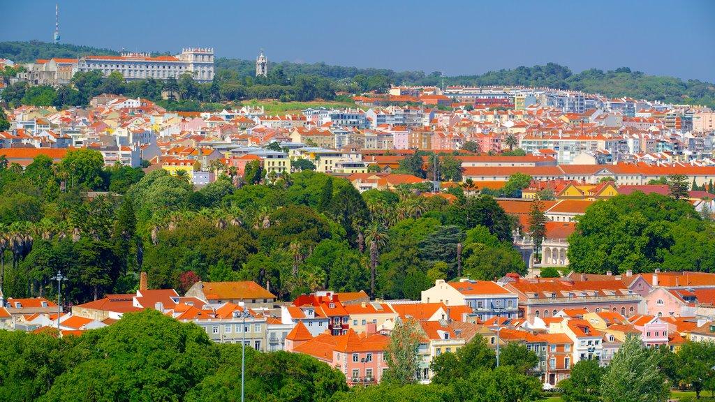 Lisbon showing a city