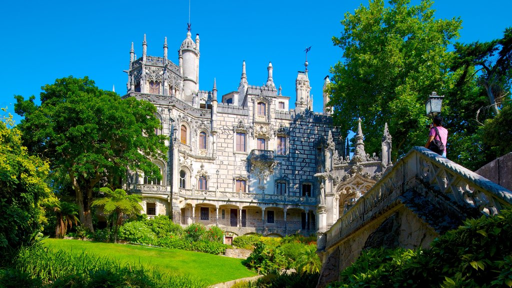 Sintra featuring chateau or palace and heritage architecture