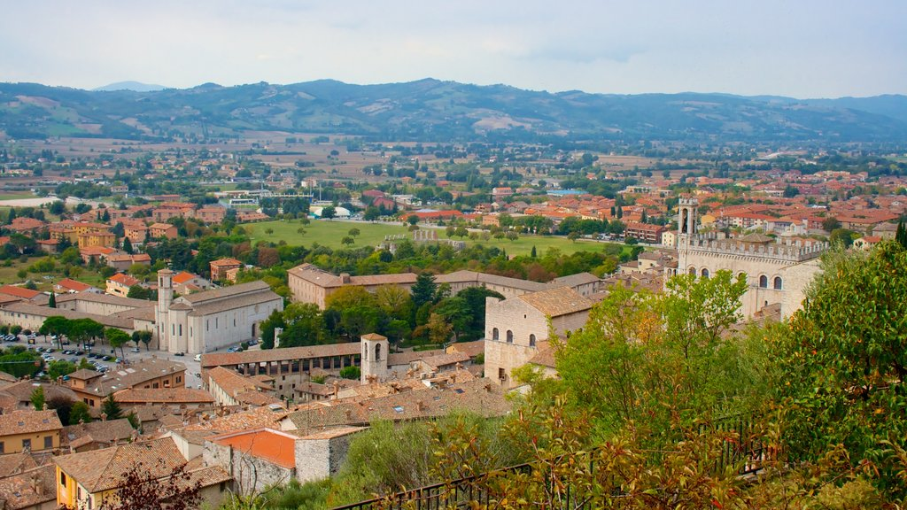Gubbio which includes a city