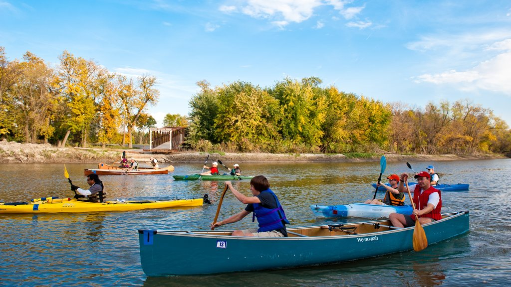Fargo featuring kayaking or canoeing and a river or creek