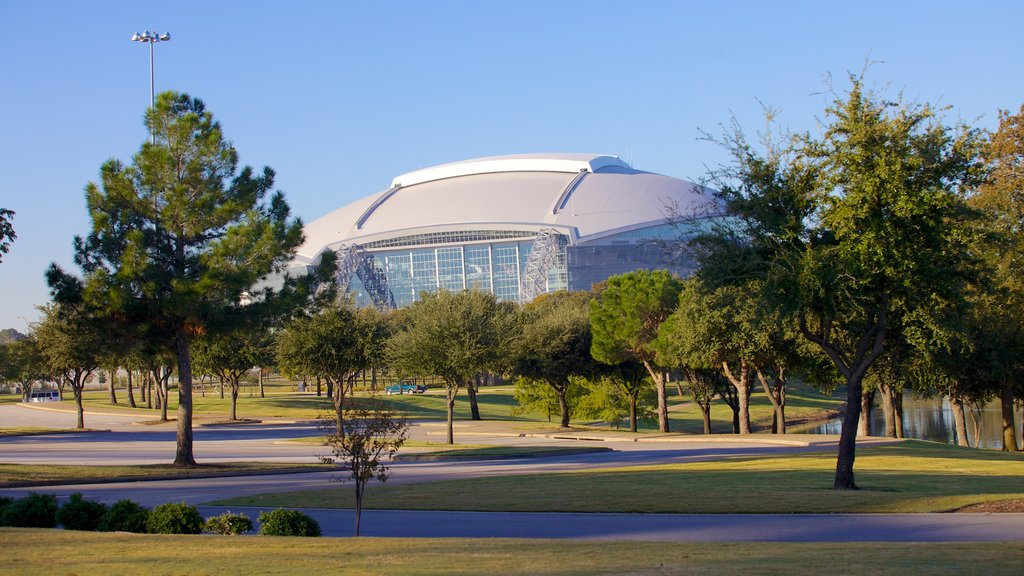 AT&T Stadium featuring modern architecture