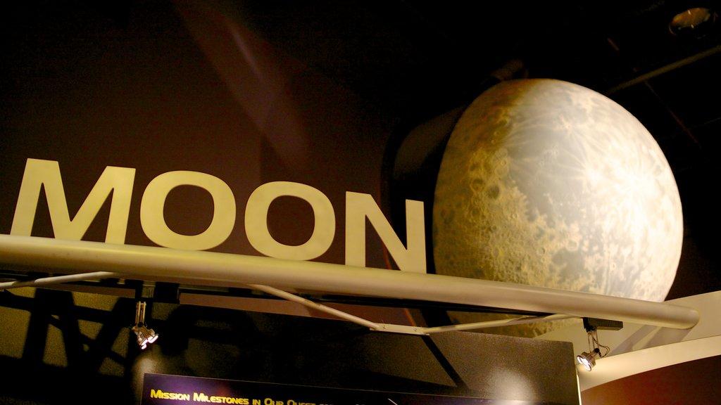Clark Planetarium showing signage