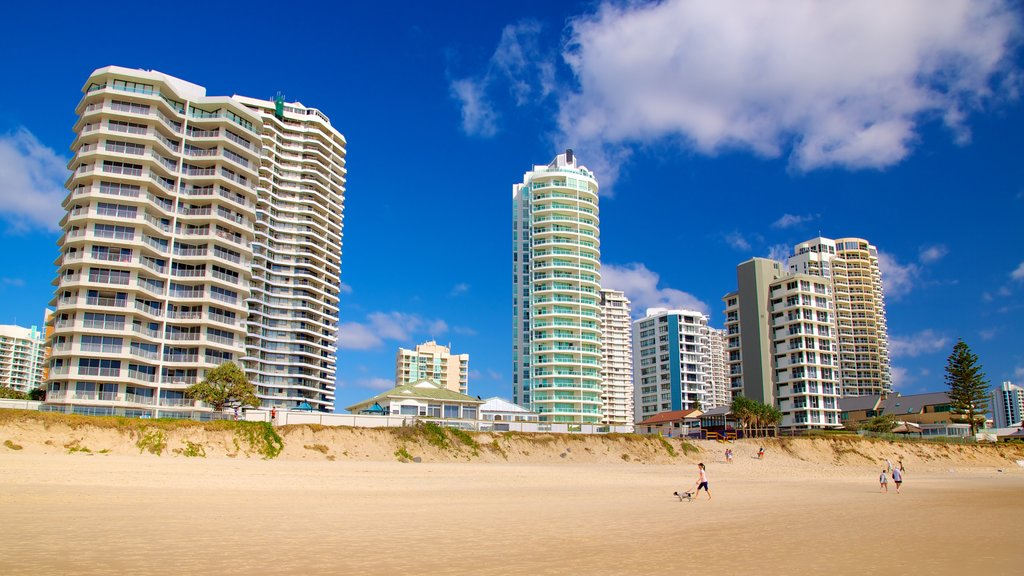 Southport featuring a high rise building, general coastal views and a coastal town