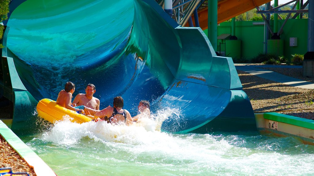 WhiteWater World showing a waterpark